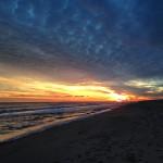 Clouds on Hampton Beach