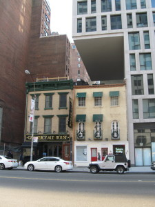 Sometimes buildings have to be built over smaller buildings